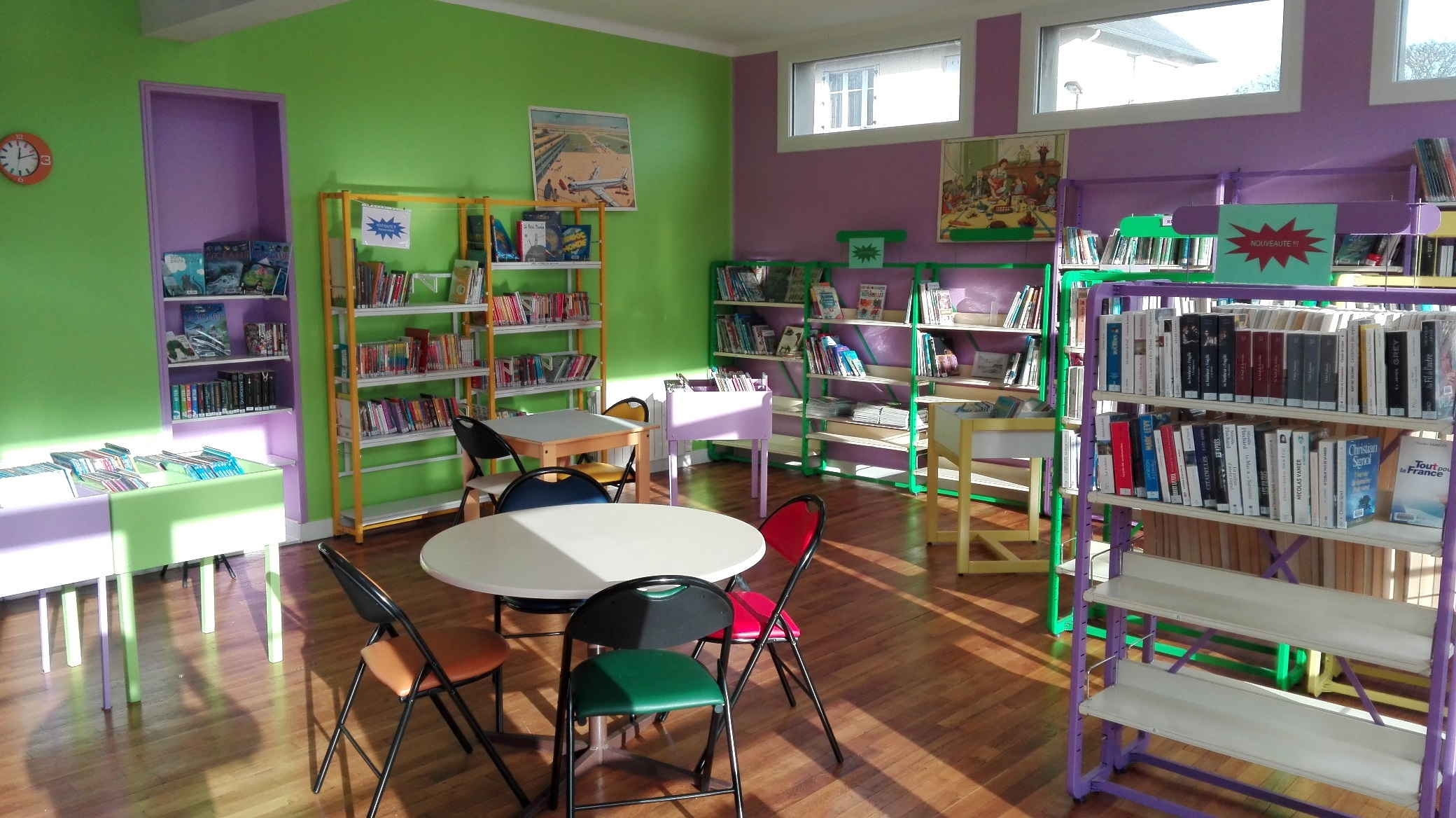 Bibliothèque de St-Martin-des-Besaces